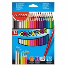 Lapices Maped Color Peps x 36 Largos