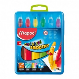 Crayones Maped de Gel Smoothy x  6 und