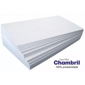 Resma Chambril A4 180g x 250 hojas.
