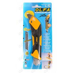 Cutter Olfa L-5-AL 18 mm. con grip