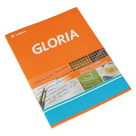 Cuaderno A5 (16 x 21)  tapa flexible x48 hjs. - Pack x 10 und