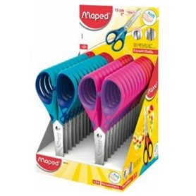 Tijera Maped Essentials Soft 13 cm (464412)