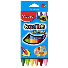 Oleos al Pastel Maped Color Peps x 12 und.