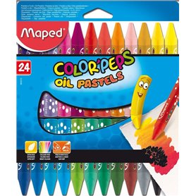 Oleos al Pastel Maped Color Peps x 24 und.