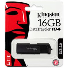 Pen Driver Kingston DataTraveler 104 - 16 Gigas