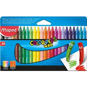 Crayones Maped Color Peps x24 und.