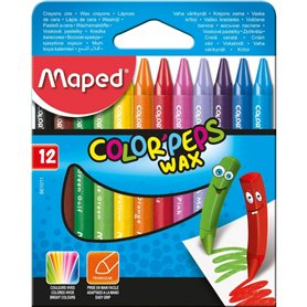 Crayones Maped Color Peps x12 und