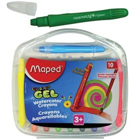 Crayones Maped de Gel Smoothy x 10 und
