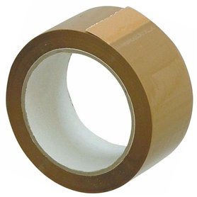 Cinta Adhesiva Embalaje 48mm x  45 mts Marron