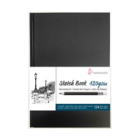 Sketch Book Hahnemuhle 120 grs A5 Blanco Natural x 124 hjs