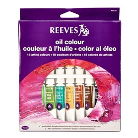 Oleos Reeves 10ml x18 Colores
