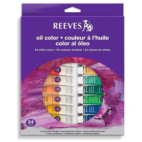 Oleos Reeves 10ml x24 Colores