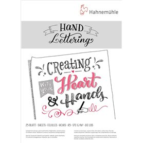 Block Hahnemuhle Hand Lettering A4 170 grs x25 hjs