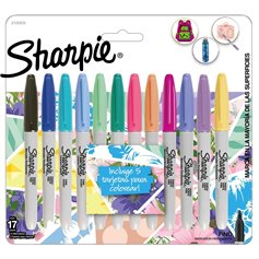 Marcador Sharpie - Set Tropical x 12 colores